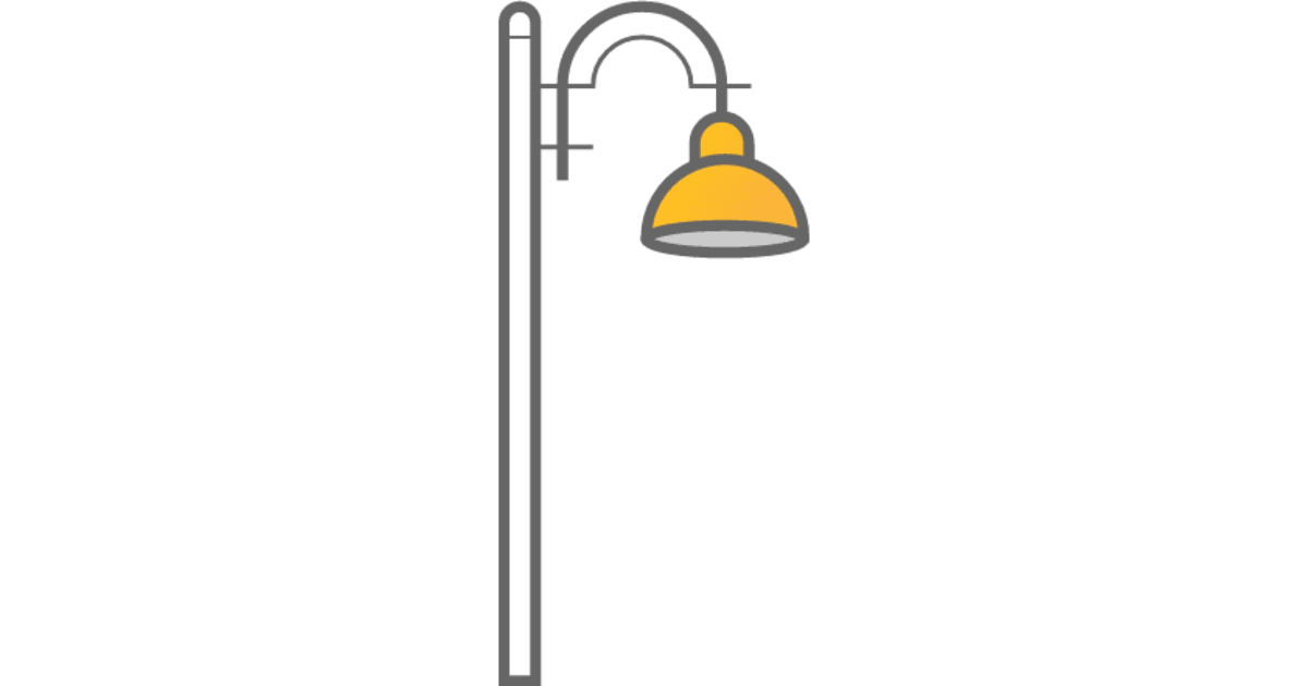 Rise Pole Mounted Outdoor Lighting