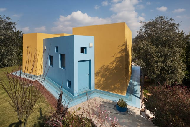 Insulated Concrete Panel House Israel Z-A Studio Assaf Pinchuk