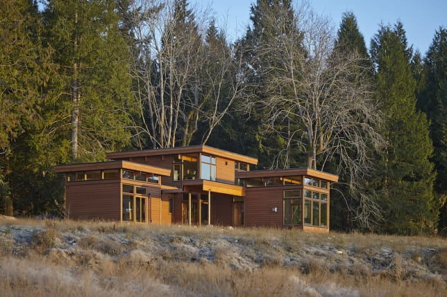 Lindal Cedar Homes in BC Richard Barta Photography for Prefabulous Small Houses