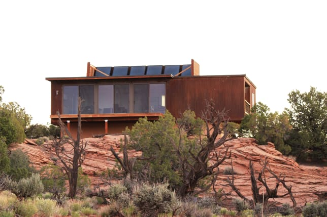 Modular House in Moab Designed by Jamie Kowal for Irontown Homes