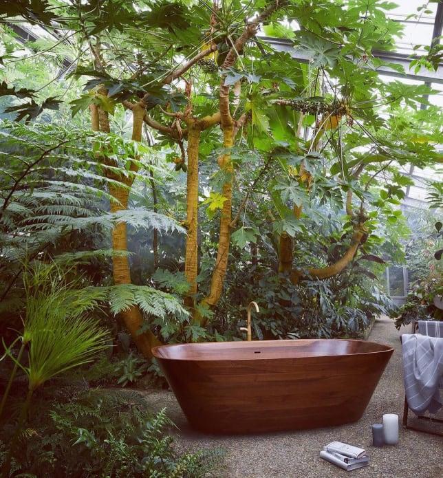 NINA MAIR Wooden Tub