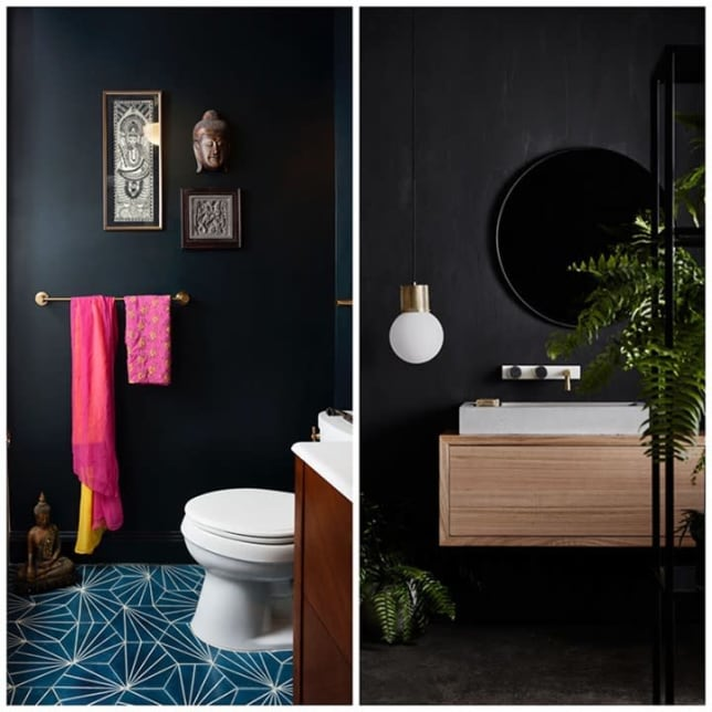 Nonpareil Solutions Matte Black Bathroom