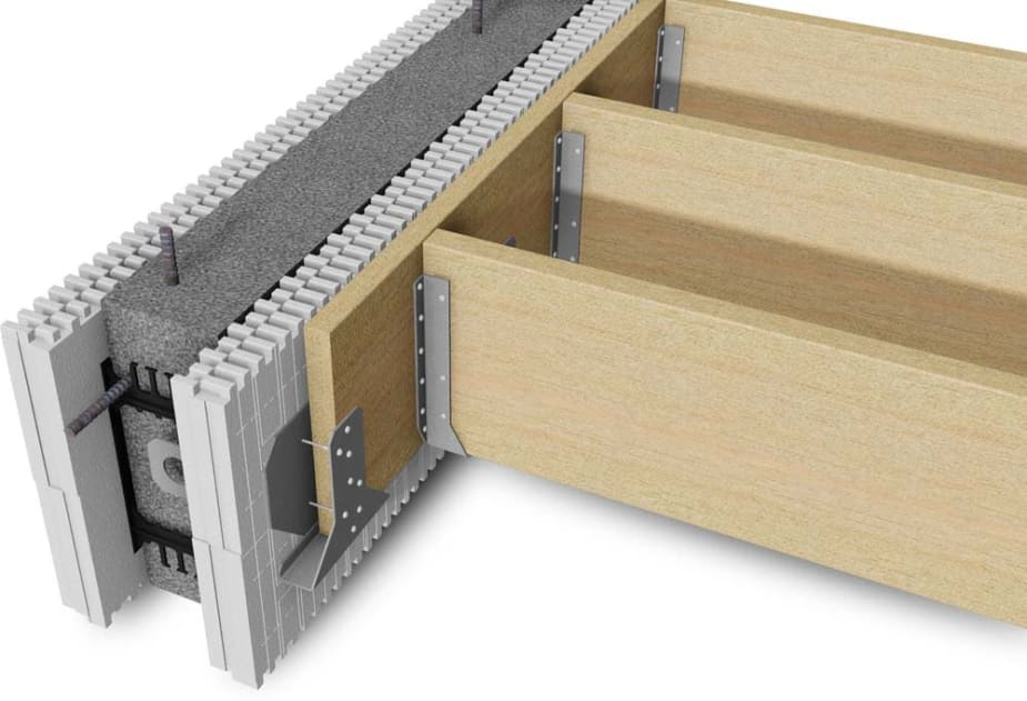 BuildBlock Ledger Block with Joists
