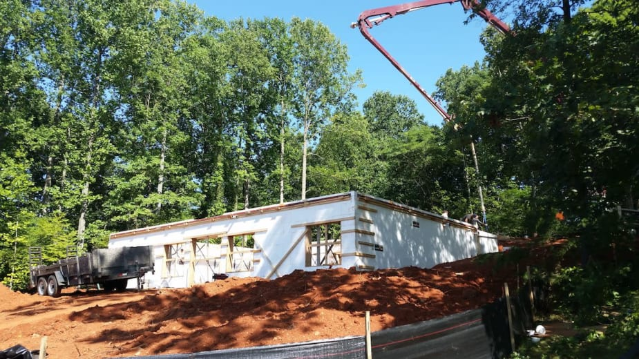 Fox Blocks Used for ICF Homes Project in Virginia Maria Saxton