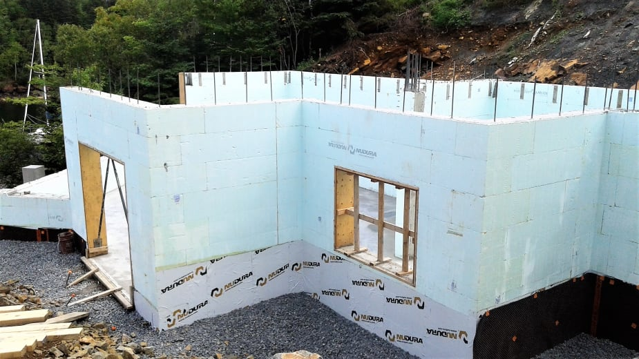 icf wall construction
