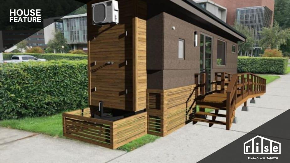 Project Zeneth A Zero Net Energy Tiny House