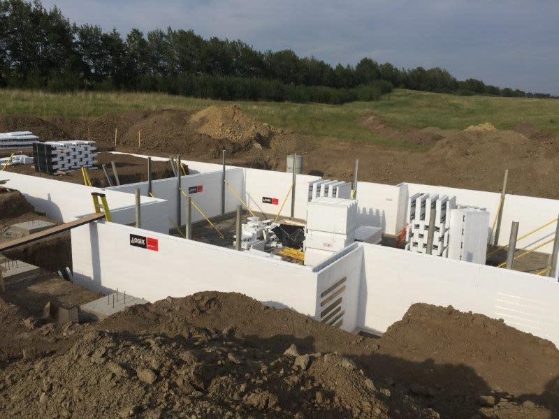 Logix ICF Build