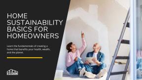 Home Sustainability Basics